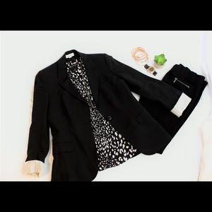 Calvin Klein • Black Blazer • Size 8
